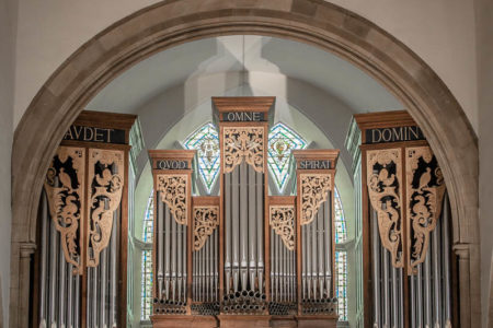 Organ Pipes of the Peter Collins Organ in Greyfriars Kirk