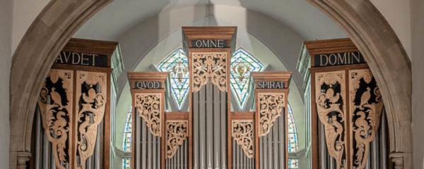 Organ Pipes of the Peter Collins Organ in Greyfriars Kirk