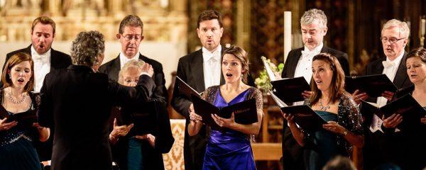 group of individuals singing