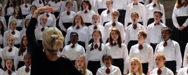 peabody children's chorus photo of children